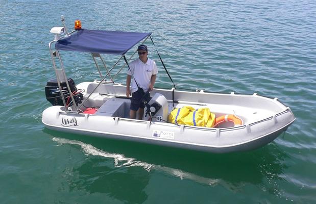 סירת ספורט whaly 435