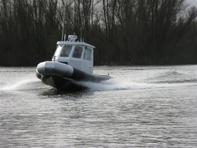 סירות אלומיניום חצי קשיחות
