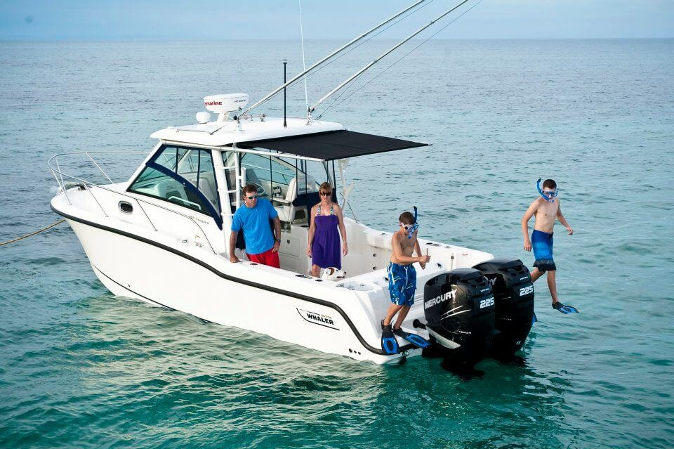 סירת דייג BOSTON WHALER-285 CONQUEST
