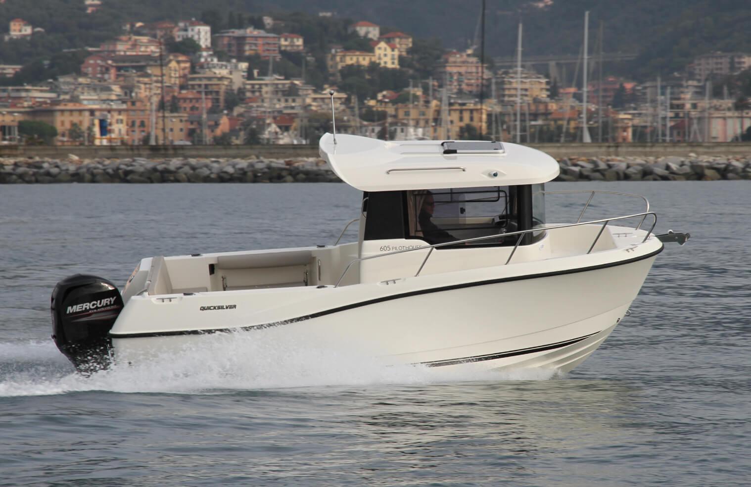 סירת דייג ספורטיבית 605-QUICKSILVER
