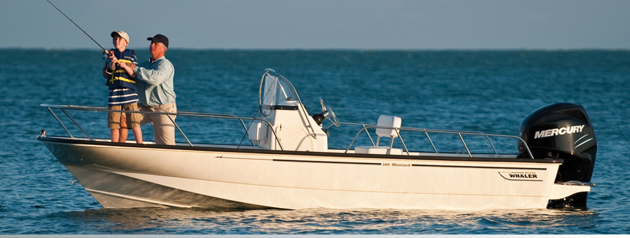 סירת מנוע BOSTON WHALER-MONTAUK 190