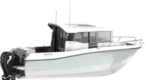 סירת ספורט QUICKSILVER -905 PILOTHOUSE