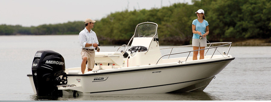 סירת דייג BOSTON WHALER-190 OUTRAGE