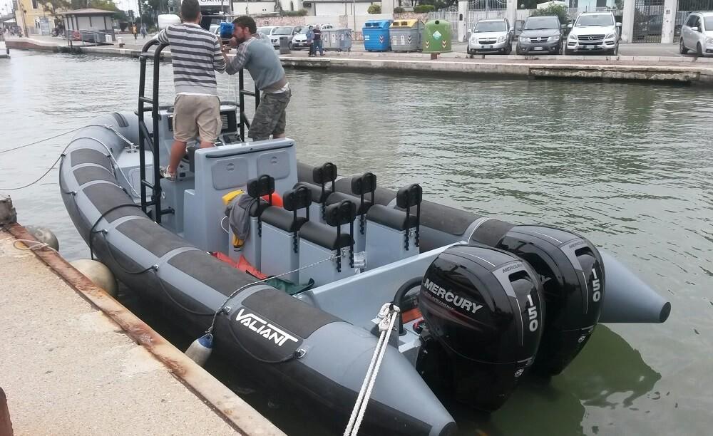 סירת מנוע PATROL – 7.50