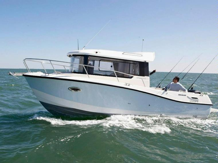 סירת דייג QUICKSILVER-755 PILOTHOUSE