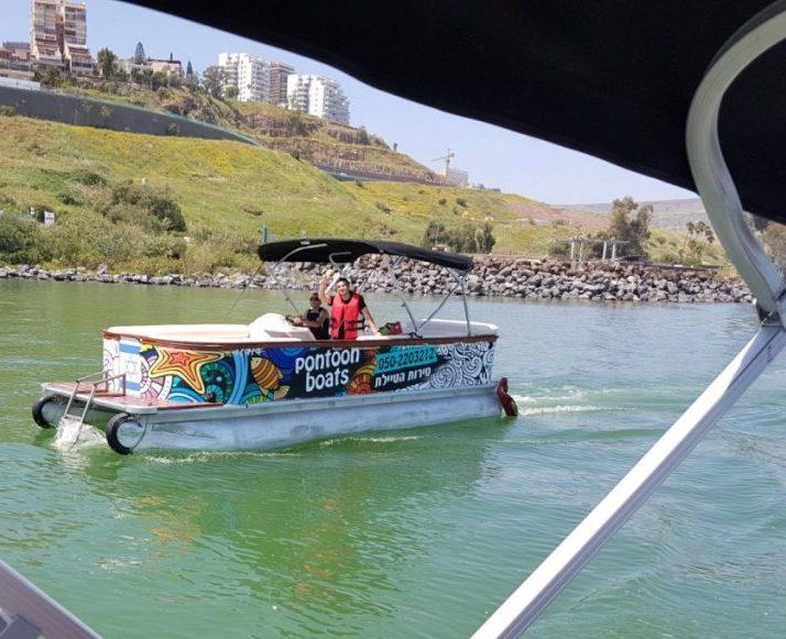 סירות לנהיגה עצמית בכנרת