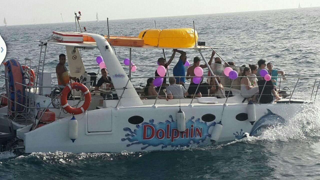 שייט על יאכטה דולפין במרינה הרצליה